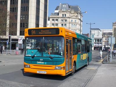 221 - CN53AJV - Cardiff (Wood St)