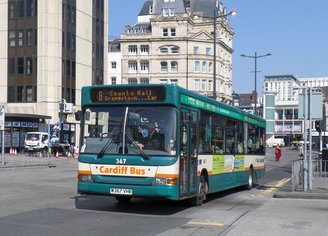 367 - W367VHB - Cardiff (Wood St)