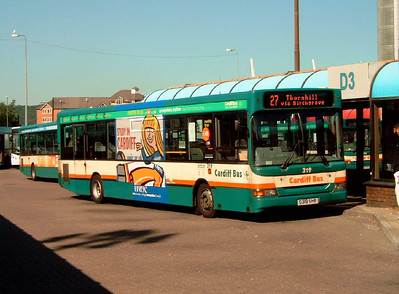 319 - S319SHB - Cardiff (bus station) - 1.8.07