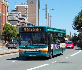 306 - S306SHB - Cardiff (Newport Road) - 23.7.12