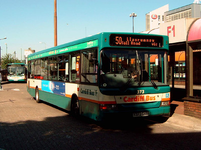 373 - Y373GAX - Cardiff (bus station) - 1.8.07