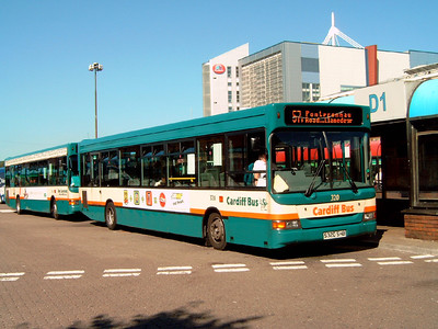 320 - S320SHB - Cardiff (bus station) - 1.8.07