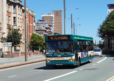 382 - Y382GAX - Cardiff (Newport Road) - 23.7.12