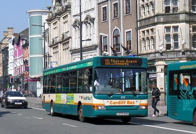 372 - Y372GAX - Cardiff (St. Mary St)