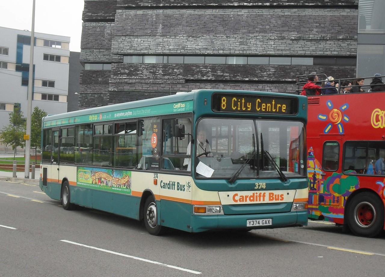 374 - Y374GAX - Cardiff (Millennium Centre) - 30.7.11