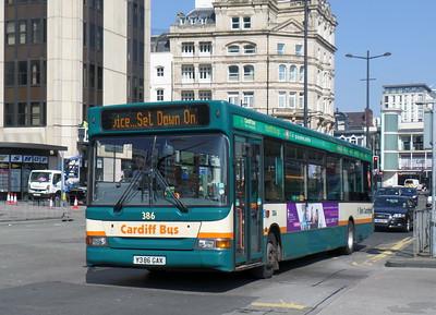 386 - Y386GAX - Cardiff (Wood St)