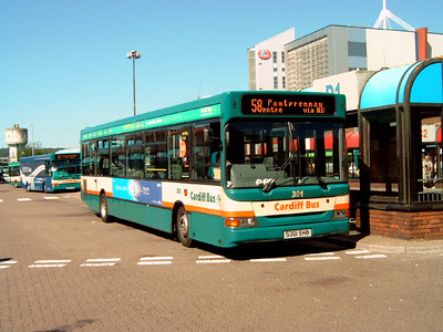 301 - S301SHB - Cardiff (bus station) - 1.8.07