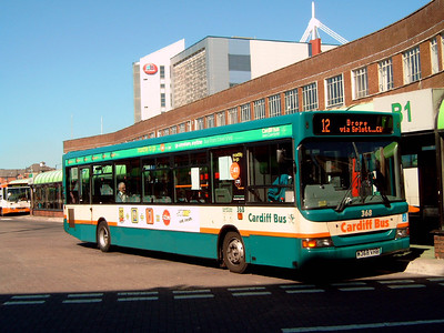 368 - W368VHB - Cardiff (bus station) - 1.8.07