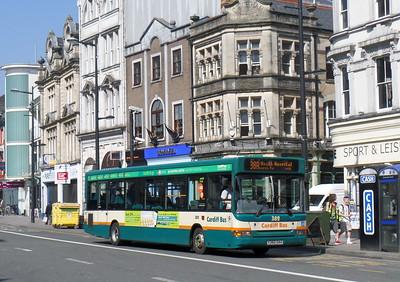 382 - Y382GAX - Cardiff (St. Mary St)