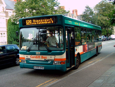 309 - S309SHB - Cardiff (Cathedral Rd) - 2.8.07