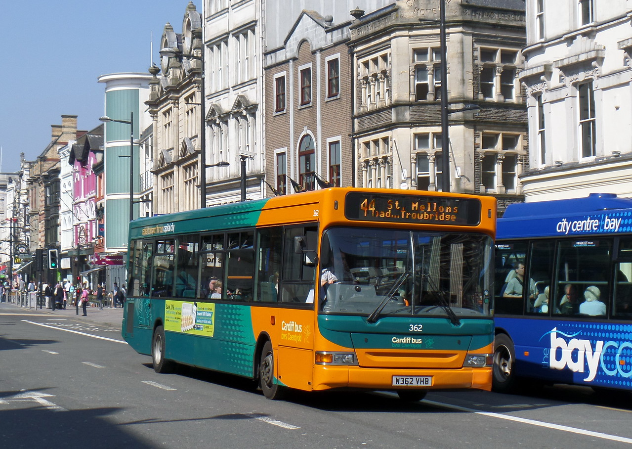 362 - W362VHB - Cardiff (St. Mary St)