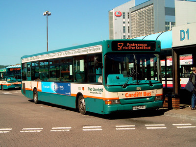 503 - CA03VRF - Cardiff (bus station) - 1.8.07
