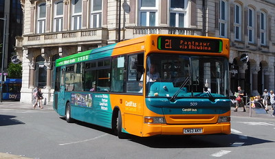 509 - CN53AKY - Cardiff (Wood Street)