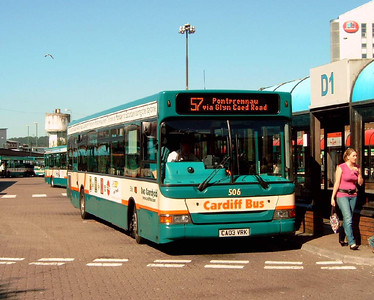 506 - CA03VRK - Cardiff (bus station) - 1.8.07