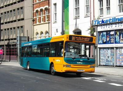 392 - CE02UVJ - Cardiff (Westgate St) - 23.7.12