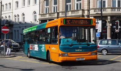 510 - CN53AKZ - Cardiff (St. Mary Street)