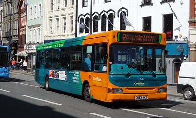 510 - CN53AKZ - Cardiff (Wood Street)