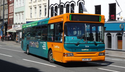 504 - CA03VRG - Cardiff (Wood Street)
