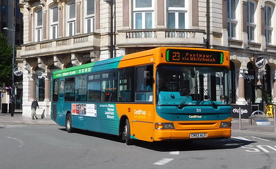 511 - CN53ALO - Cardiff (Wood Street)
