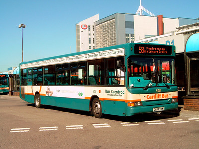 508 - CA03YRM - Cardiff (bus station) - 1.8.07