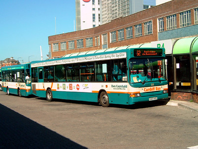 501 - CA03VRD - Cardiff (bus station) - 1.8.07