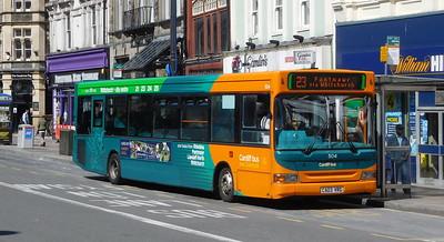 504 - CN03VRG - Cardiff (Wood Street)