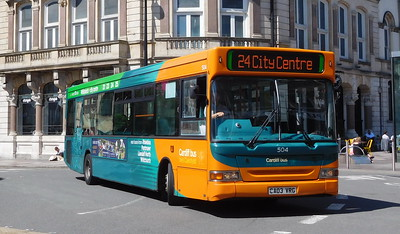504 - CE03VRG - Cardiff (Wood Street)