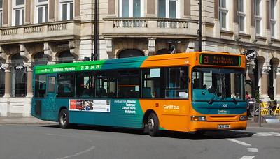 508 - CA03VRM - Cardiff (Wood Street)