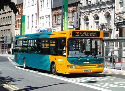 390 - CE02UVG - Cardiff (Westgate St) - 23.7.12