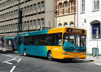 509 - CN53AKY - Cardiff (Westgate St) - 23.7.12