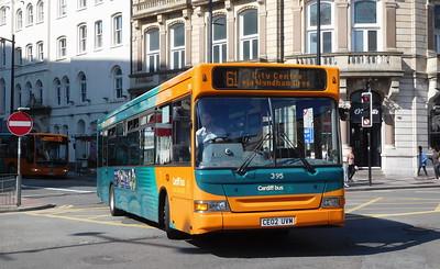 395 - CE02UVM - Cardiff (St. Mary Street)