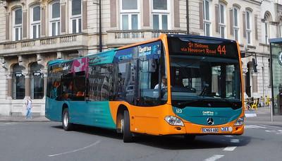 123 - CN65ABO - Cardiff (St. Mary Street)