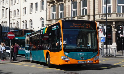137 - CN17FZY - Cardiff (Wood St)