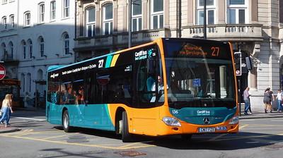 136 - CN17FZX - Cardiff (Wood St)