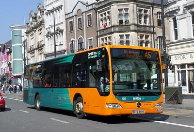 102 - CE63NYV - Cardiff (St. Mary St)