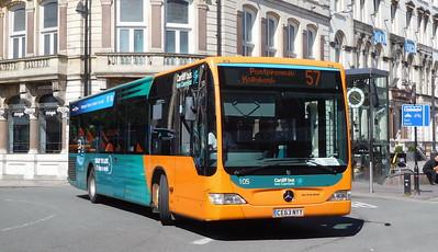 105 - CE63NYY - Cardiff (St. Mary Street)