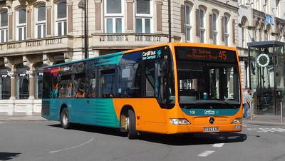 108 - CE63NZB - Cardiff (St. Mary Street)