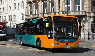 115 - CE63NYN - Cardiff (Wood Street)