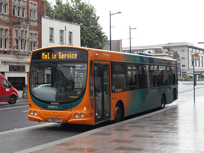 766 - CN58FFU - Cardiff (bus station) - 3.8.09