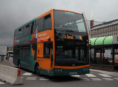 469 - CN57BKU - Cardiff (bus station) - 3.8.09