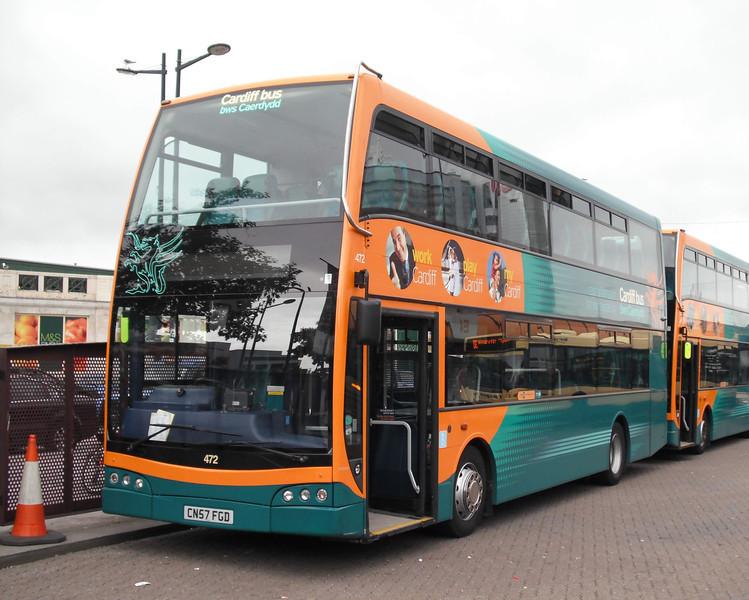 472 - CN57FGD - Cardiff (bus station) - 3.8.09