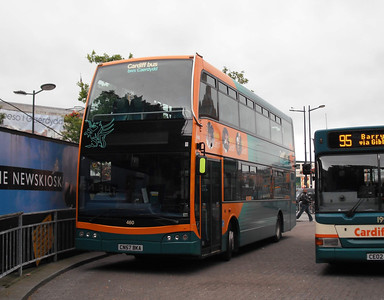 460 - CN57BKA - Cardiff (bus station) - 3.8.09