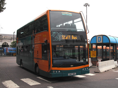 464 - CN57BKG - Cardiff (bus station) - 3.8.09