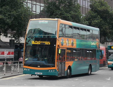 462 - CN57BKE - Cardiff (bus station) - 3.8.09