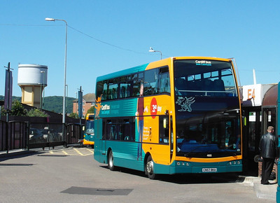 460 - CN57BKA - Cardiff (bus station) - 23.7.12