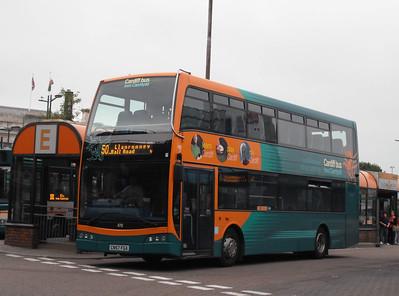 470 - CN57FGA - Cardiff (bus station) - 3.8.09