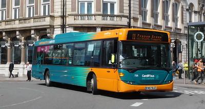 735 - CN57BJZ - Cardiff (St. Mary's Street)