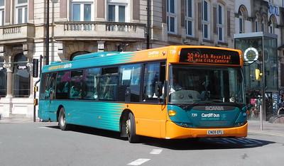 739 - CN09EFL - Cardiff (St. Mary's Street)