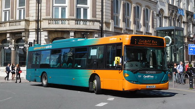 737 - CN09EFJ - Cardiff (St. Mary's Street)