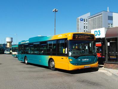 731 - CN57BJU - Cardiff (bus station) - 23.7.12